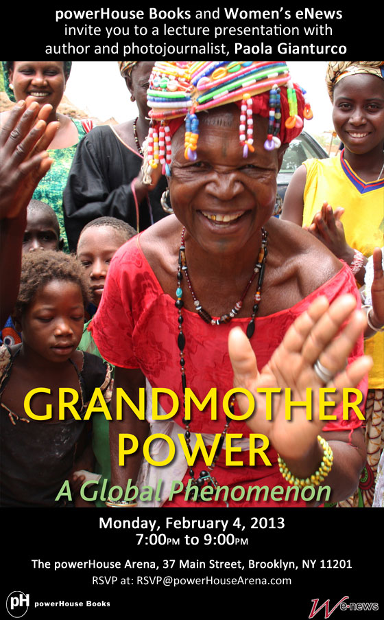 Presentation and Signing: GRANDMOTHER POWER: A GLOBAL PHENOMENON by Paola Gianturco