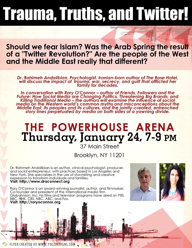 Discussion: The Middle East: Trauma, Truths, & Twitter