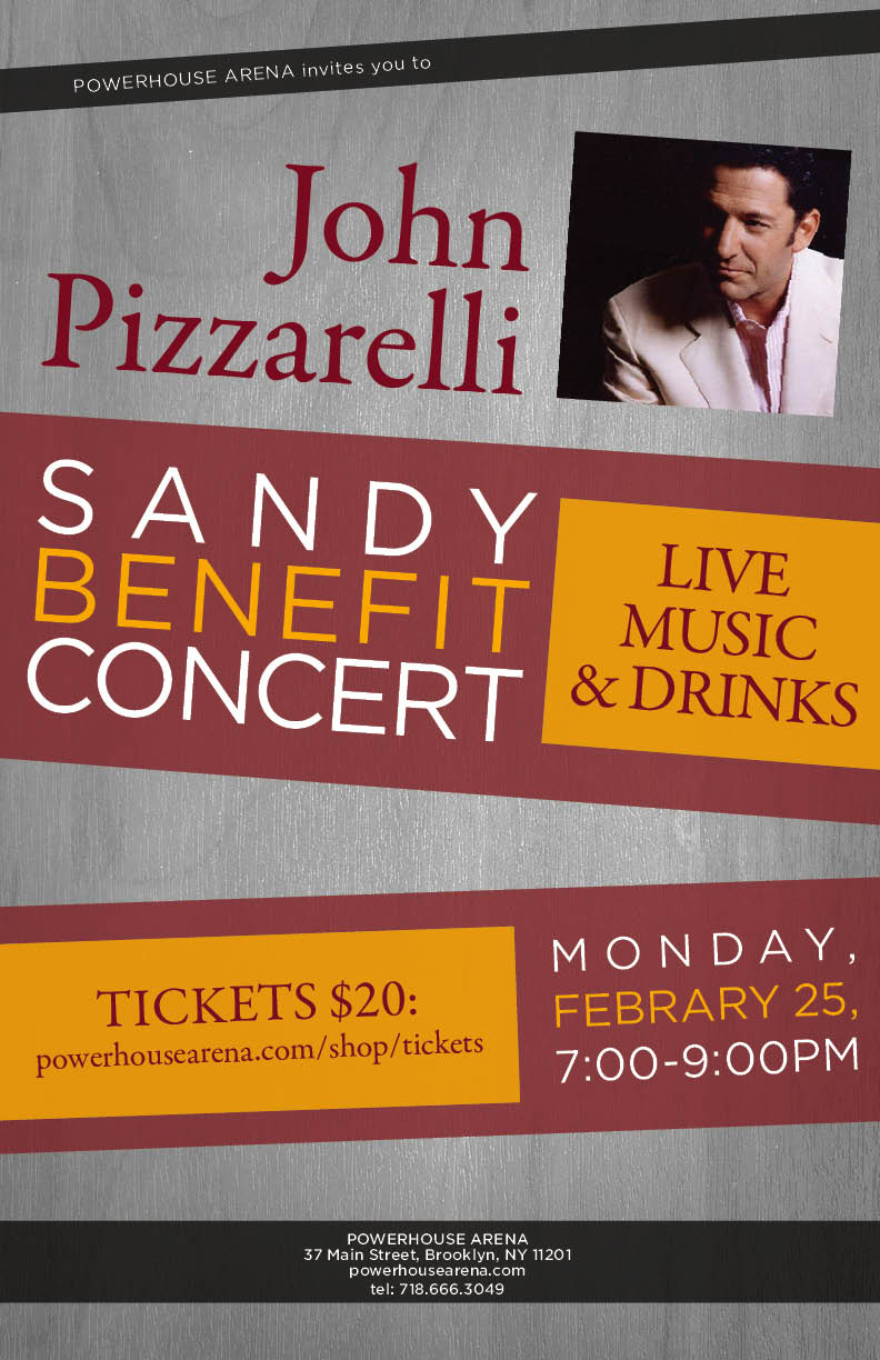 John Pizzarelli Sandy Benefit Concert