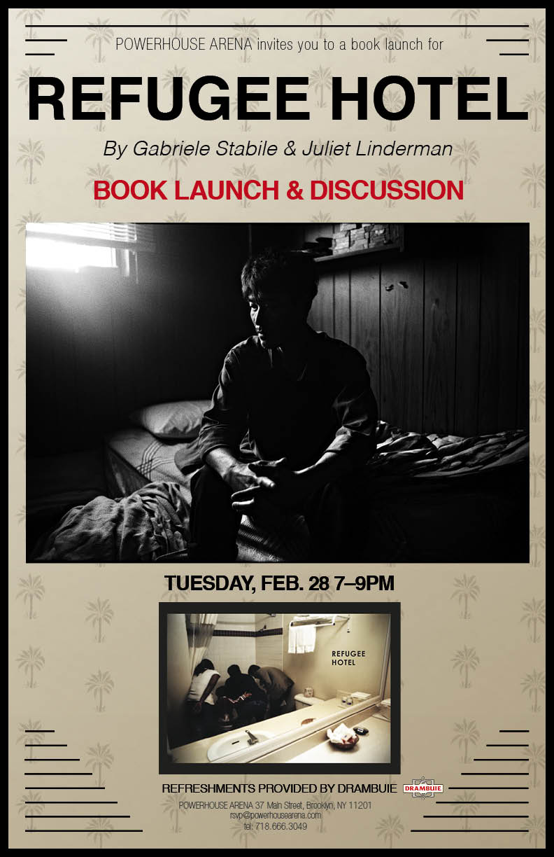 NYC Launch & Discussion: Refugee Hotel by Gabriele Stabile and Juliet Linderman