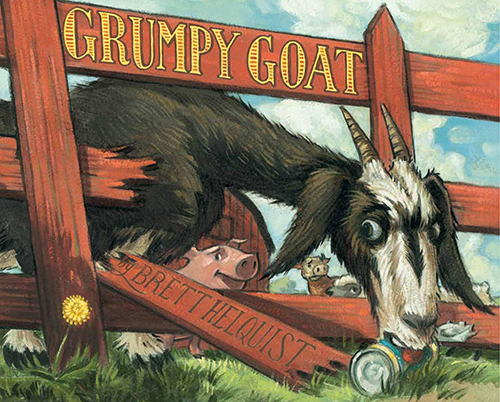 Story Time: Grumpy Goat by Brett Helquist