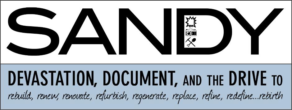 EXHIBITION: SANDY: Devastation, Document, Drive