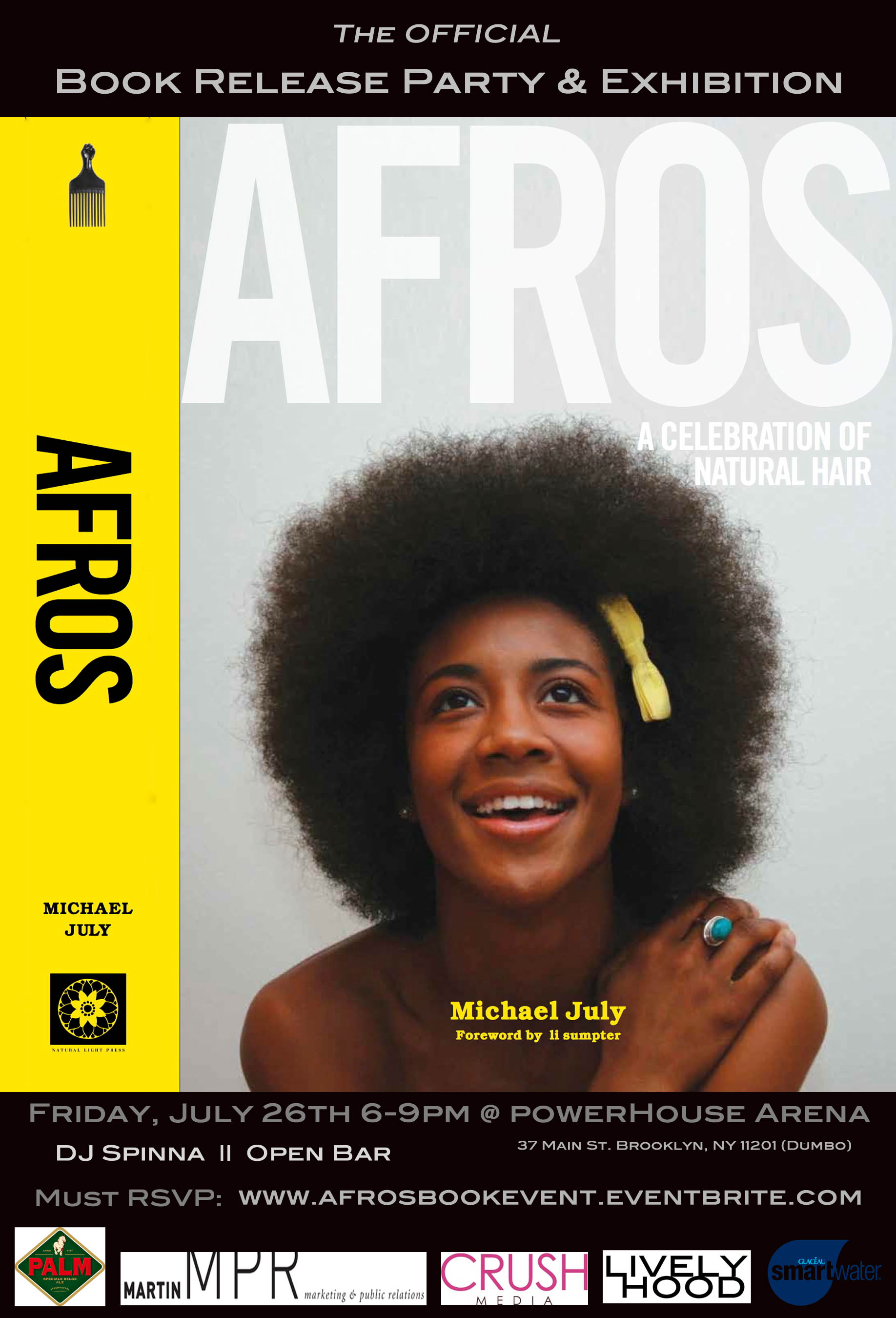 Book Launch: Afros: A Celebration of Natural Hair by Michael July