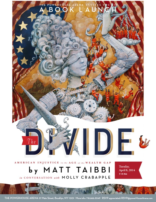 Book Launch: The Divide by Matt Taibbi, with Molly Crabapple