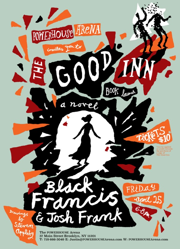 Book Launch: The Good Inn by Black Francis & Josh Frank, with Steven Appleby