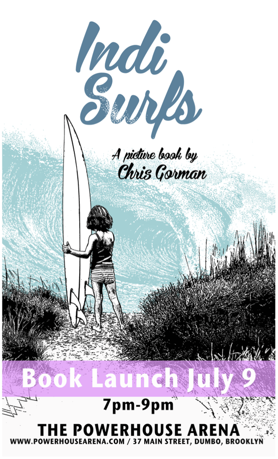 POW! Kids Books Launch: Indi Surfs by Chris Gorman