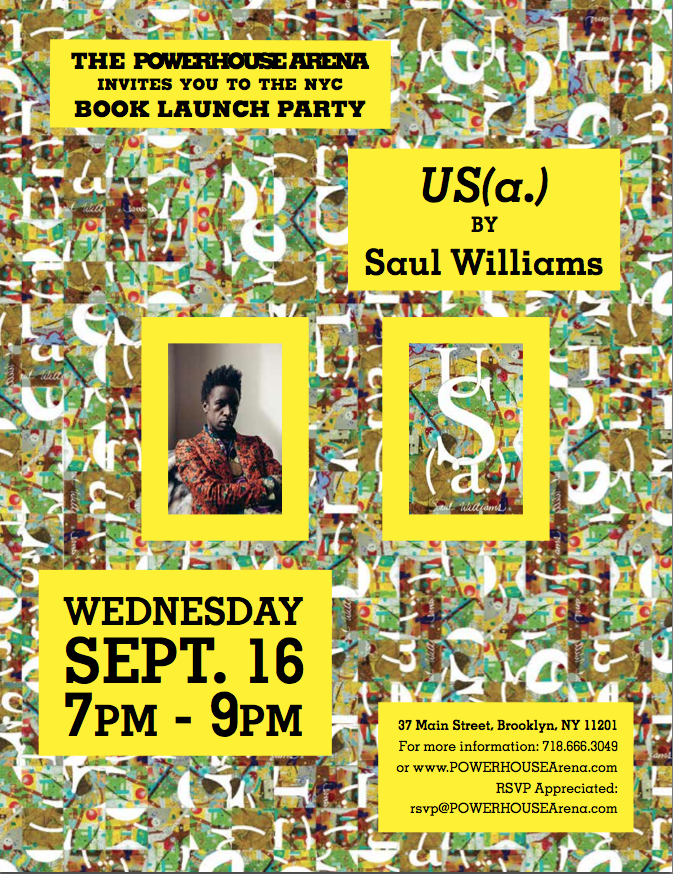 Official Brooklyn Book Festival Bookend Event: US(a.) by Saul Williams