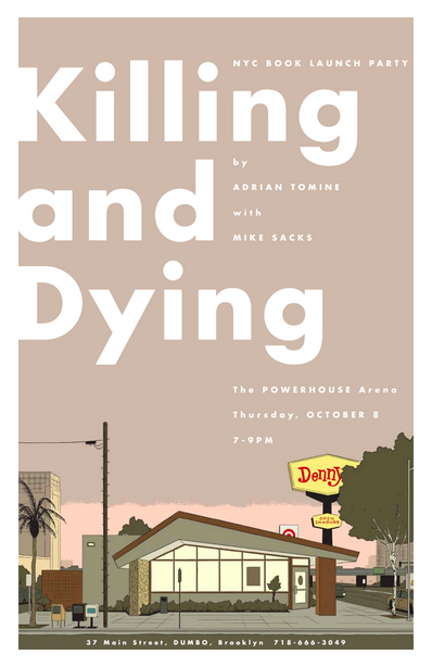 Book Launch: Killing and Dying by Adrian Tomine with Mike Sacks