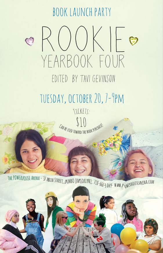 Book Launch: Rookie Yearbook 4 by Tavi Gevinson