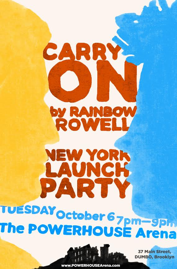 Book Launch: Carry On by Rainbow Rowell