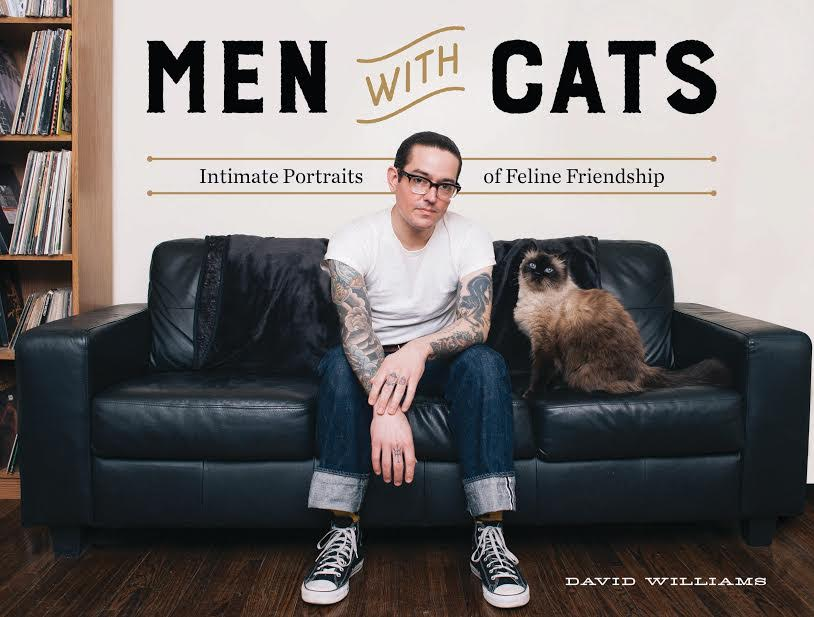 Book Launch: Men with Cats: Intimate Portraits of Feline Friendship by David Williams