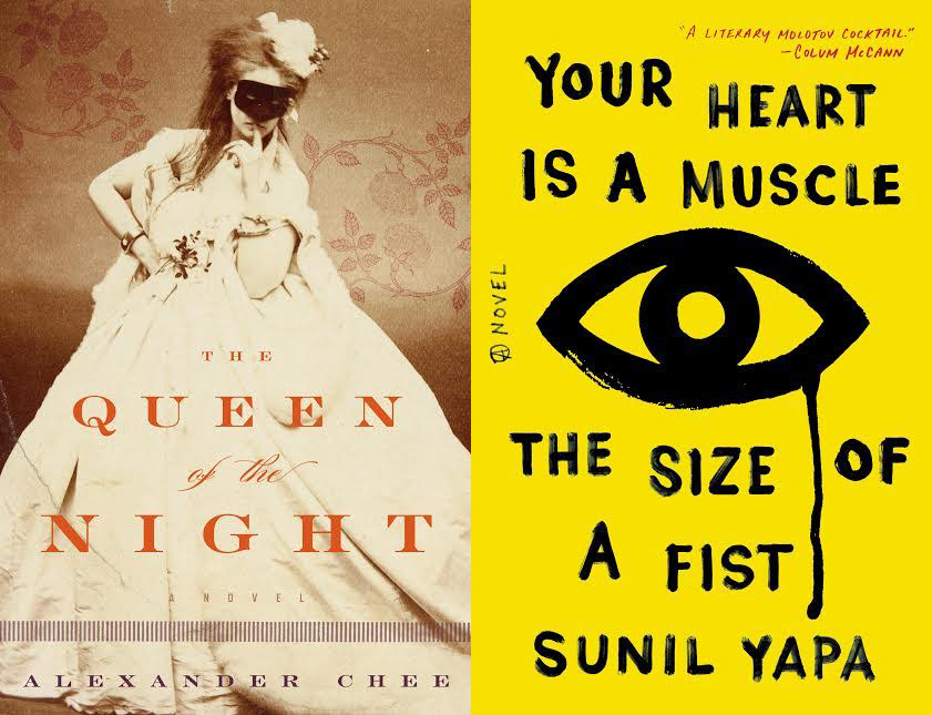 Joint Book Launch: The Queen of the Night by Alexander Chee and Your Heart is a Muscle the Size of a Fist by Sunil Yapa